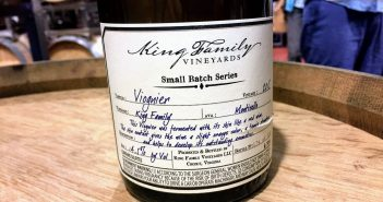 "King Family Vineyards ""Small Batch Series"" 2015 Orange Viognier"