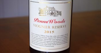 Penns Woods Winery 2015 Viognier Reserve