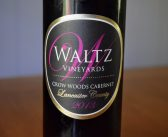 Waltz Vineyards 2013 Crow Woods Cabernet Sauvignon