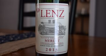 Lenz Winery 2013 Estate Selection Merlot