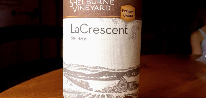 Shelburne Vineyard 2015 Semi-Dry La Crescent