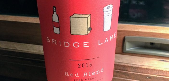 Lieb Cellars 2016 Bridge Lane Red Blend