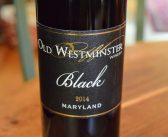 "Old Westminster Winery 2014 ""Black"" Red Blend"