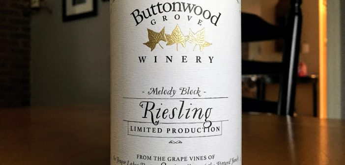 "Buttonwood Grove Winery 2016 ""Melody Block"" Riesling"