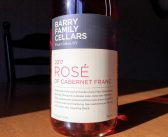 REVIEW: Barry Family Cellars 2017 Rosé of Cabernet Franc