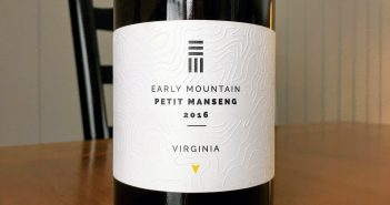 Early Mountain Vineyards 2016 Petit Manseng