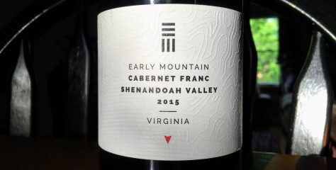 REVIEW: Early Mountain Vineyards 2015 Shenandoah Valley Cabernet Franc
