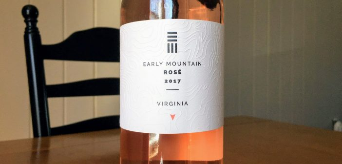 REVIEW: Early Mountain Vineyards 2017 Rose