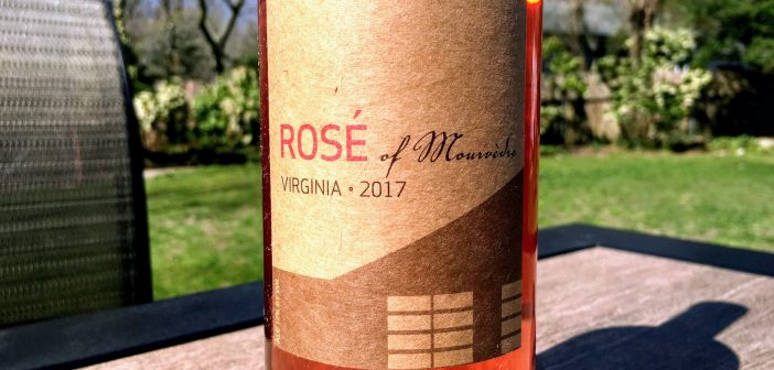 REVIEW: Stinson Vineyards 2017 Rosé of Mourvèdre