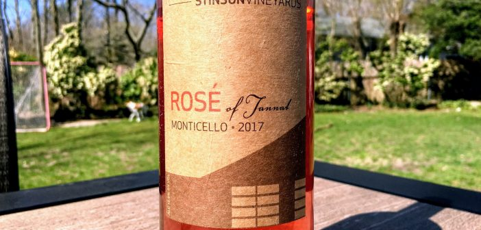 REVIEW: Stinson Vineyards 2017 Rosé of Tannat