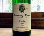 REVIEW: Hermann J. Wiemer 2016 Dry Riesling