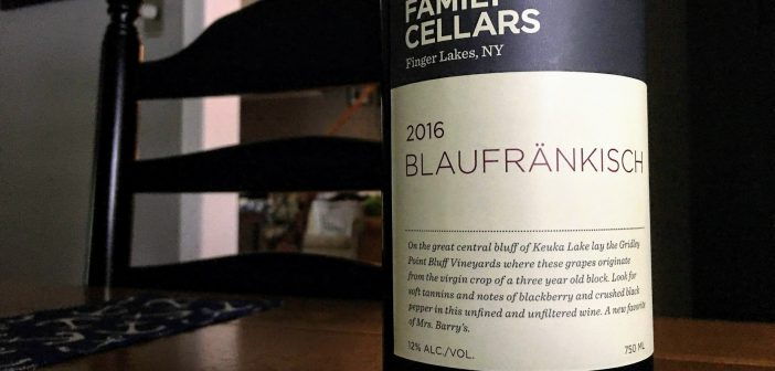 REVIEW: Barry Family Cellars 2016 Bläufrankisch