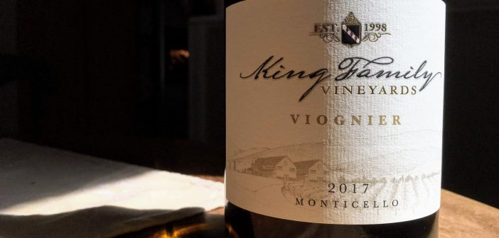 REVIEW: King Family Vineyards 2017 Viognier