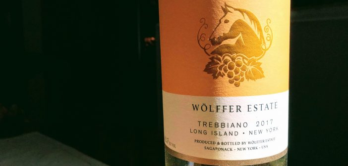 REVIEW: Wölffer Estate 2017 Trebbiano