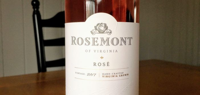 REVIEW: Rosemont of Virginia 2017 Rosé