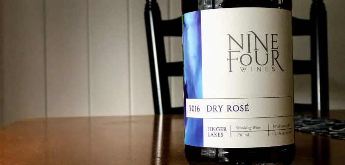 REVIEW: Nine-Four Wines 2016 Dry Rosé Sparkling Wine