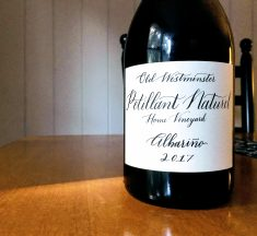 REVIEW: Old Westminster Winery 2017 Albariño Petillant Naturel