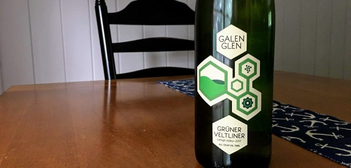 "REVIEW: Galen Glen Winery 2017 ""Vinology"" Grüner Veltliner"