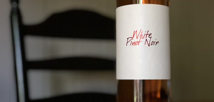 REVIEW: Anthony Nappa Wines 2017 White Pinot Noir