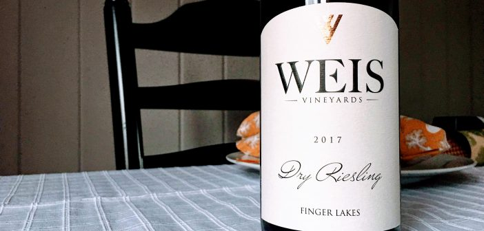 REVIEW: Weis Vineyards 2017 Dry Riesling