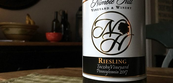 "REVIEW: Nimble Hill Winery 2017 ""Toczko Vineyard"" Riesling"