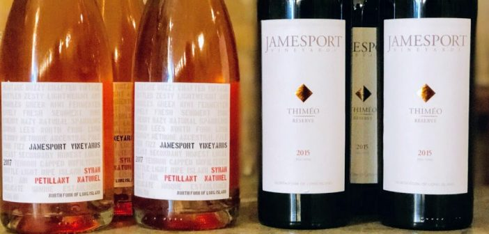 The Cork Club: March 2019 Selections from Jamesport Vineyards