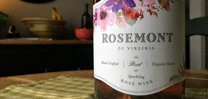 REVIEW: Rosemont of Virginia 2017 Brut Rose