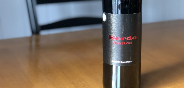 "REVIEW: Anthony Nappa Wines 2017 ""Bordo Antico"" Cabernet Franc"