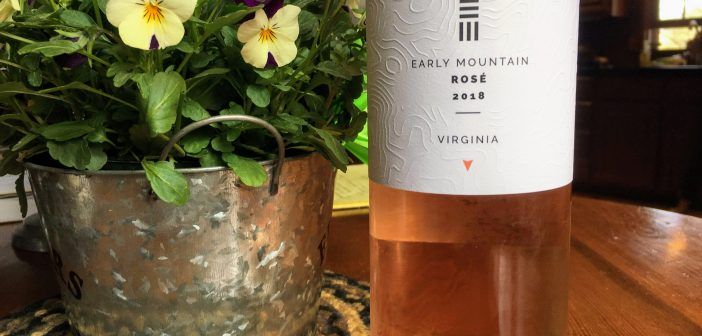 REVIEW: Early Mountain Vineyard 2018 Rose
