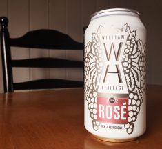 REVIEW: William Heritage Winery 2018 Rose (Canned)
