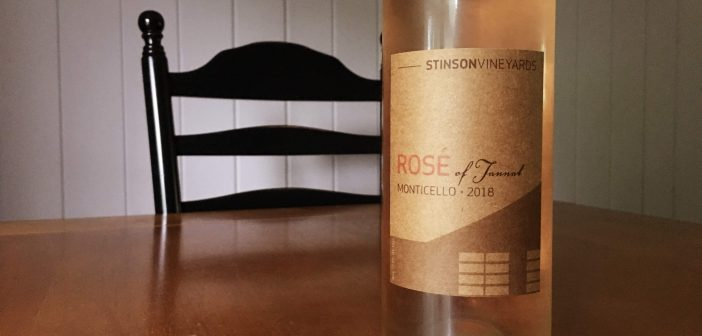 REVIEW: Stinson Vineyards 2018 Rose of Tannat