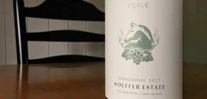 """REVIEW: Wolffer Estate 2017 """"Perle"""" Chardonnay"""