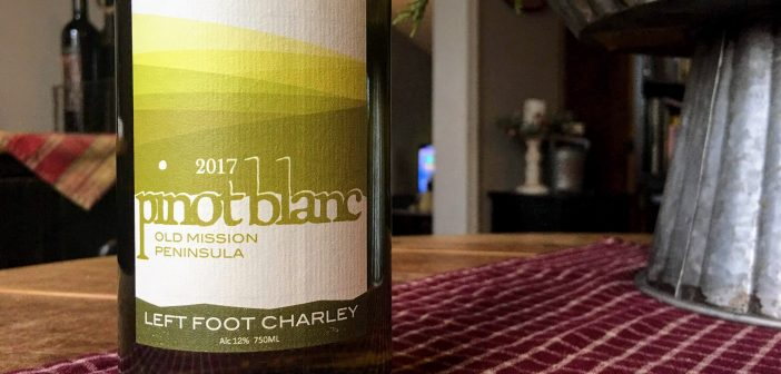 REVIEW: Left Foot Charley 2017 Pinot Blanc