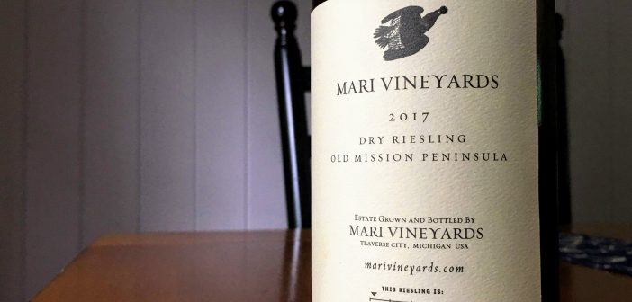 REVIEW: Mari Vineyards 2017 Old Mission Peninsula Dry Riesling