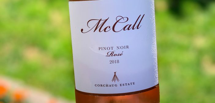 REVIEW: McCall Wines 2018 Pinot Noir Rose