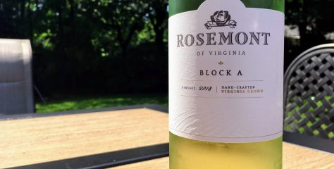"REVIEW: Rosemont of Virginia 2018 ""Block A"" (Pinot Grigio/Chardonel Blend)"