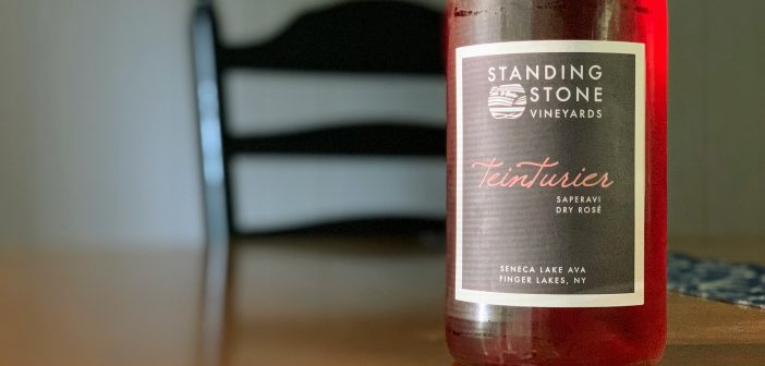 "REVIEW: Standing Stone Vineyards 2018 ""Teinturier"" Saperavi Rose"