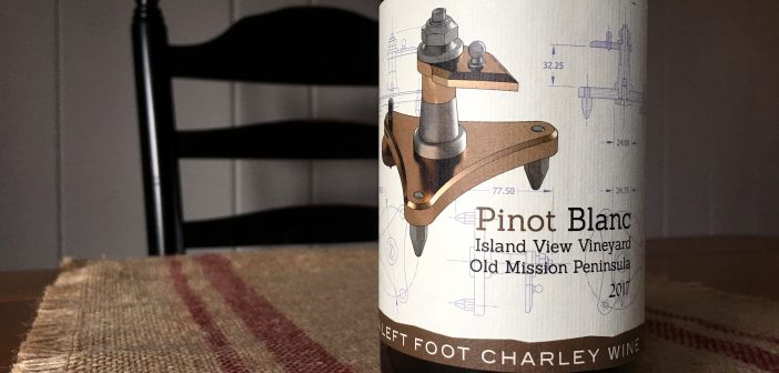 REVIEW: Left Foot Charley 2017 Island View Vineyard Pinot Blanc