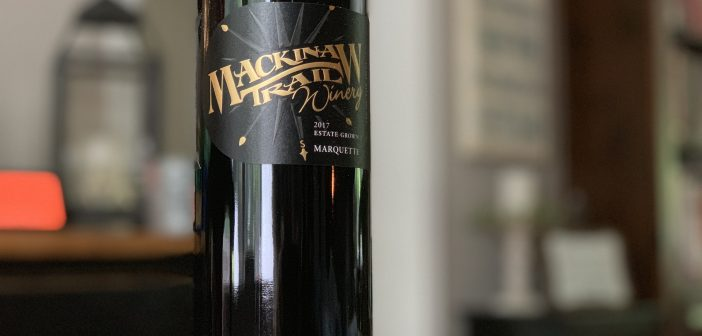 REVIEW: Mackinaw Trail Winery 2017 Estate Grown Marquette