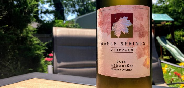 REVIEW: Maple Springs Vineyard 2018 Albarino