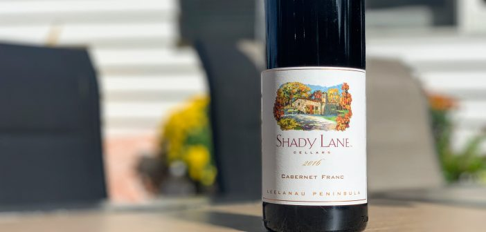REVIEW: Shady Lane Cellars 2016 Cabernet Franc