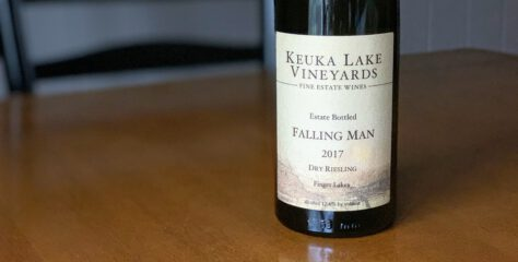 "[REVIEW] Keuka Lake Vineyards 2017 ""Falling Man Vineyard"" Dry Riesling"