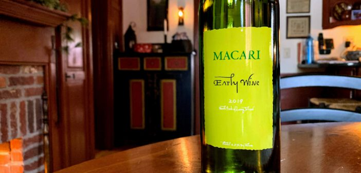 "[REVIEW] Macari Vineyards 2019 ""Early Wine"" Chardonnay"