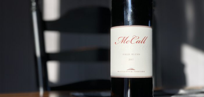 [REVIEW] McCall Wines 2017 Field Blend