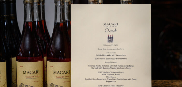 """[PICTURES] """"Sunday Supper @ Orto"""" with Macari Vineyards"""