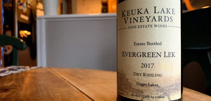 [REVIEW] Keuka Lake Vineyards 2017 Evergreen Lek Dry Riesling