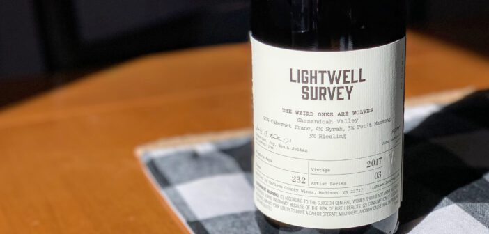 "[REVIEW] Lightwell Survey 2017 ""The Weird Ones Are Wolves"" Cabernet Franc"