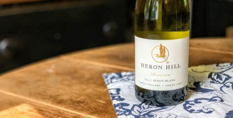 [REVIEW] Heron Hill Winery 2017 Reserve Pinot Blanc