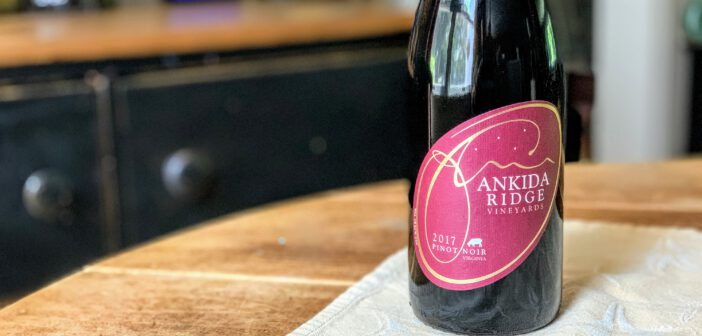 [REVIEW] Ankida Ridge Vineyards 2017 Pinot Noir