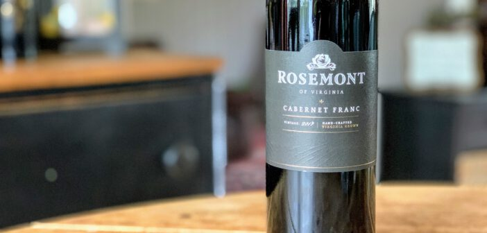 [REVIEW] Rosemont of Virginia 2017 Cabernet Franc